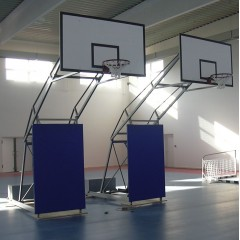 Collision protection for mobile consoles basketball,  1100mm x 2000mm