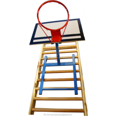 Basketball system for WallBars