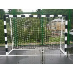 Handball goal from steel with fixing on the ground
