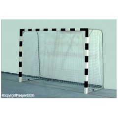 Handball wooden goal with fixing on the ground, 3m x 2m x 1m