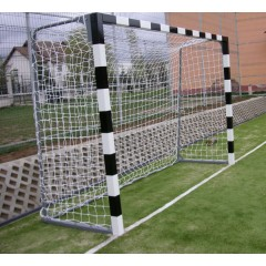 Handball wooden goal with fixing plugs, 3m x 2m x 1m